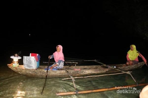 Khadija Nelayan perempuan yang ikut Balobe lema