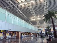 Sekarang masuk bandaranya tidak perlu melalui mesin scan barang, cukup menunjukkan tiket penerbangan kepada petugas sehingg kalau kita bawa barang berat tidak perlu bongkar sana-sini. Ruang check in juga bersih dan rapi. Bandara Internasional Supadio melayani pergerakan sebanyak 4,2 juta penumpang per tahun. Tahun 2019 kemarin, pergerakan penumpang diperkirakan dapat mencapai 4,4 juta penumpang.