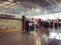 Di Bandara supadio tersedia banyak toko-toko untuk kebutuhan kita sebelum melajutkan penerbangan seperti toko Ripcurl, Bakso, AW, Kemang Resto, Excelso dan lain-lain.