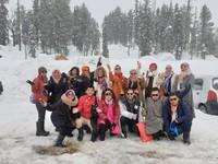 Salju di Gulmarg