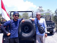 Parkiran Jeep Merapi