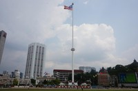 Tiang bendera tertinggi di dunia di Dataran Merdeka