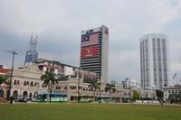 Banyak gedung-gedung bersejarah terletak di sekitar Dataran Merdeka