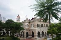 Sultan Abdul Samad Building dilihat dari samping