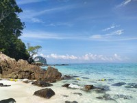 BAMBOO ISLAND DI KOH MAI PAI. THE REAL VITAMIN SEA !