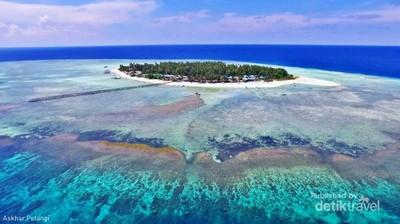 Pulau Secantik Ini Ada di Kalimantan Timur