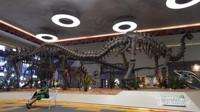 Replika tulang yang ada di dino park dalam ukuran asli yang sanhat besar.
