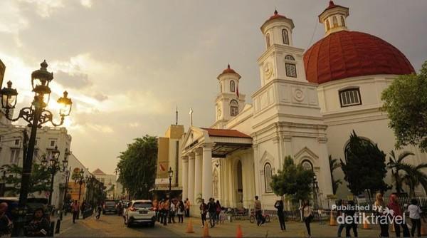 Gereja Blenduk, salah satu landmark instagenic yang menjadi buruan untuk berfoto