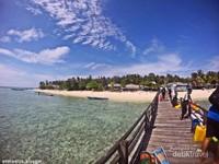 dermaga Pulau Salissingan cukup panjang