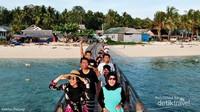 jangan lewatkan petualangan seru bersama teman-teman di Pulau Salissingan
