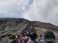 Jalur Pendakian Bromo