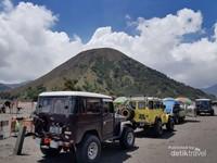 Pemandangan Gunung Batok