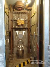 Penampakan Toilet seperti di film-film hollywood