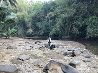 Menikmati kesegaran udara dan keindahan alam di Perkampungan Suku Baduy