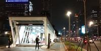 Untuk mencapai tempat ini bisa menggunakan moda transportasi MRT