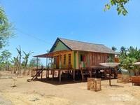 Salah satu rumah suku Mandar di Masalembu