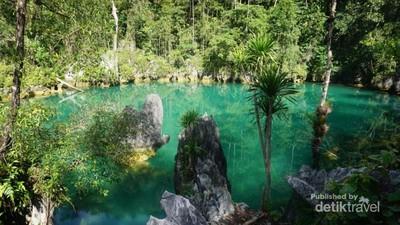 Penampakan Laguna Super Cantik dari Labengki