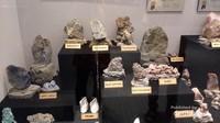Gems Gallery di Bangkok yang memajang berbagai jenis perhiasan dan bebatuan yang menjadi bahan baku pembuatan perhiasan.