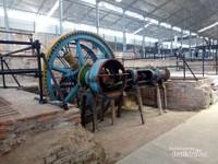 Mesin-mesin produksi gula yang masih dipertahankan