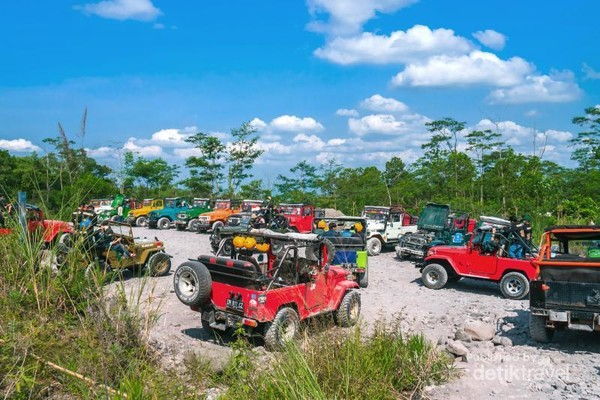 Off road Lava Tour Merapi, Kaliurang, Sleman, DIY