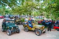 Parkiran di Museum Sisa Hartaku, salah satu spot Lava Tour Merapi