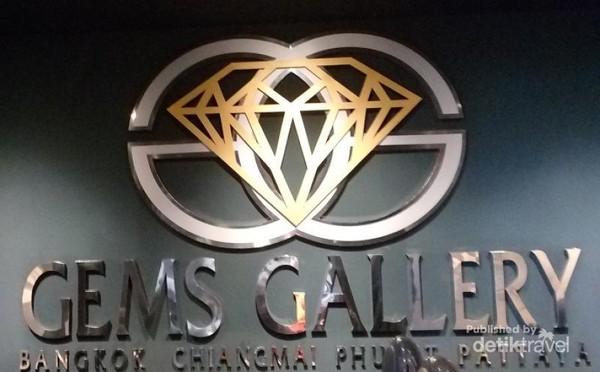 Gems Gallery terdapat di Bangkok, Chiang Mai, Phuket, dan Pattaya