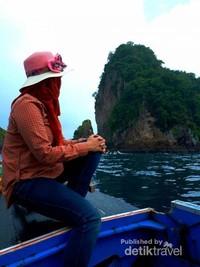 Tiba di Pulau Wayang,