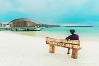 Overwater villas di Club Med Finolhu