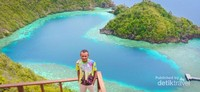 Trip sea kayak ke Telaga love, Misool Selatan