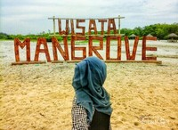 Spot FOto di Pantai Mangrove