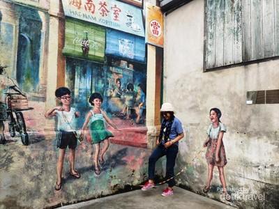 Mural Instagramable di Kuala Lumpur