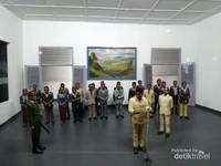 Diorama Proklamasi kemerdekaan Indonesia pada tanggal 17 Agustus 1945.