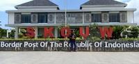 Post Perbatasan RI-Papua Nugini di Skouw