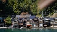 Funaya yang berarti rumah perahu
