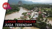 Ratusan Rumah di Sumatera Barat Terendam Banjir