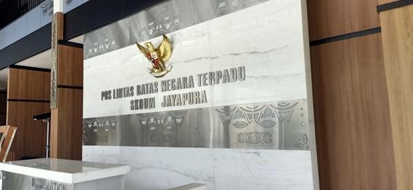 Sebelum kembali, para pengunjung akan diperiksan lagi di Pos Lintas Batas Negara