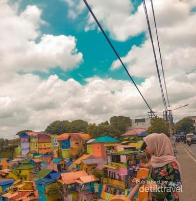 Kampung Warna-warni di Malang Serasa di Luar Negeri