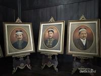 Lukisan Sultan - Sultan yang pernah memerintah di Kesultanan Kotawaringin.