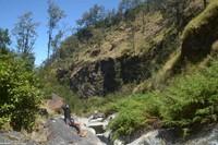 Selain digunakan untuk penelitian, area kawah ini sering juga digunakan untuk bertapa oleh para peziarah.