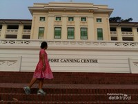 Fort Canning Center, tempat informasi dan pameran di Fort Canning Park