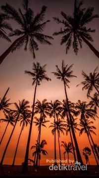 Sunset di crystal bay