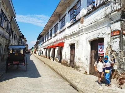 Bukan Spanyol, Ini Kota Tua Filipina