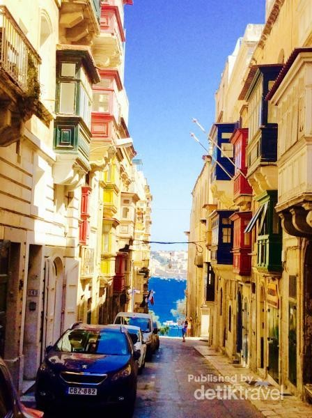 Kota tua Valletta, ibu Kota Malta