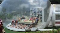 spot foto bubble tent