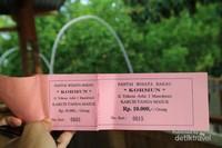 Tiket masuk Mangrove Kormun