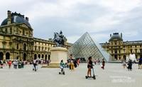 Museum Le Louvre, di mana lukisan Monalisa berada