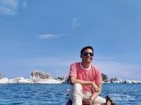 Lautan dan bebatuan di pulau Belitung