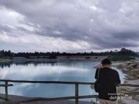 Danau Kaolin pulau Belitung