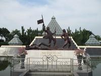 Makam Pahlawan tak dikenal.