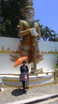 Thais statue in Mini Siam Pattaya